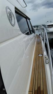 POlering av båtar och gelcout