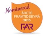 Nominerad Årets Framtidsbyrå av FAR 2015 - Ekonomibyråna Halmstad