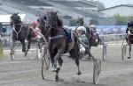 Porthos Race målgång. Foto: Lars Jakobsson / TR Media
