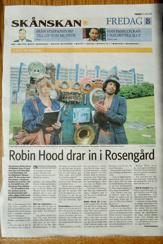 Skånska dagbladet artikel 2014-06-20