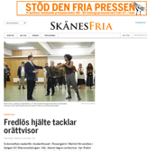 Skånes Fria artikel 2014-06-27