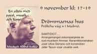 Kulturafton 9 november kl 17