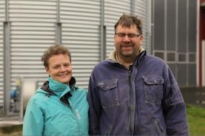 Karin och Patrik Velander, ägare och brukare av Bränneberg.