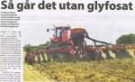 Artikel som bygger på Ulrik Lovans föredrags om ett ev. glyfosatförbud