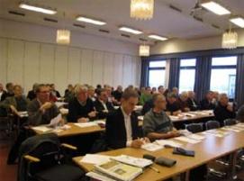 Ett 60 tal deltagare fick del av ett intressant program