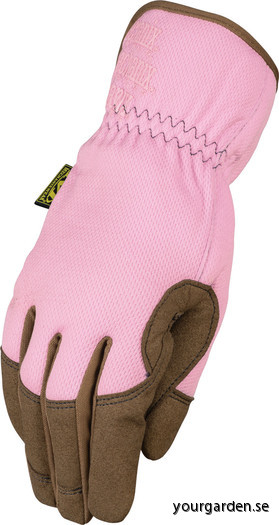 Pink glove front