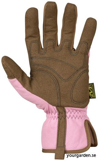 Pink glove back