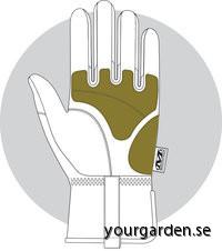 Pink glove padding