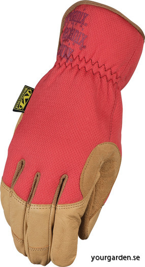 Red glove front