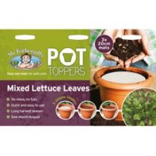 Pot toppers - fröduk
