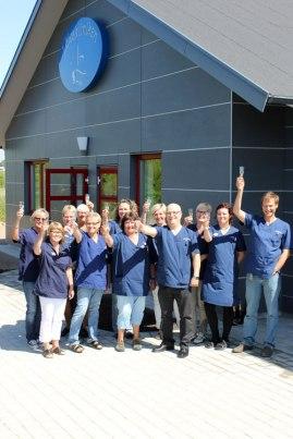 Invigning av nya vårdcentralen Läjeskliniken i Trslövsläge, Varberg