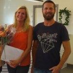 Anna Backman och Mikael Pilstrand