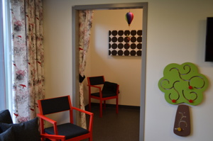 Amningsrum, Läjesklinikens BVC