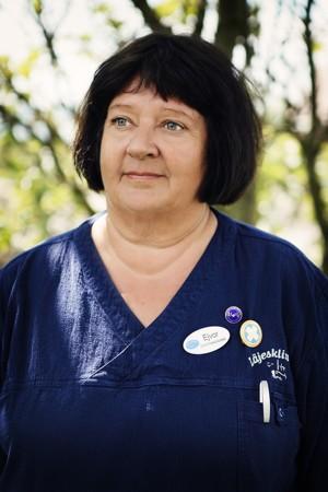 Ejvor Åkerlund, distriktssköterska