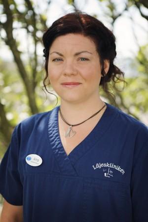 Anna Lundin, medicinsk sekreterare