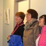 Besökare vernissage Läjeskliniken