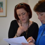 Nina Fischer, ACTIC Friskvågen med besökare