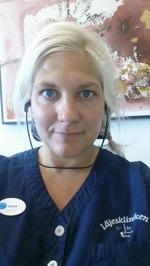 Sara Erlandsson, medicinsk sekreterare
