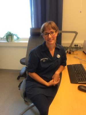 Maja Mollberg, Underläkare