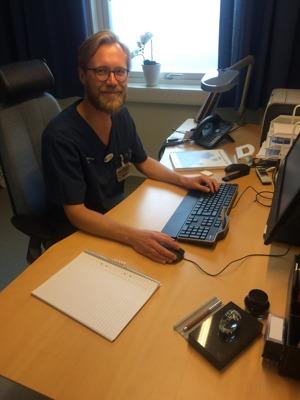 Kristofer Mollberg, Distriktsläkare