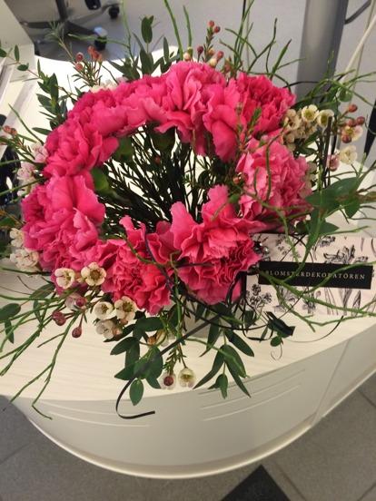 Bukett från Blomsterdekoratören, Varberg