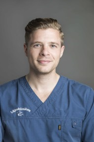 Erik Blomstrand, ST-läkare
