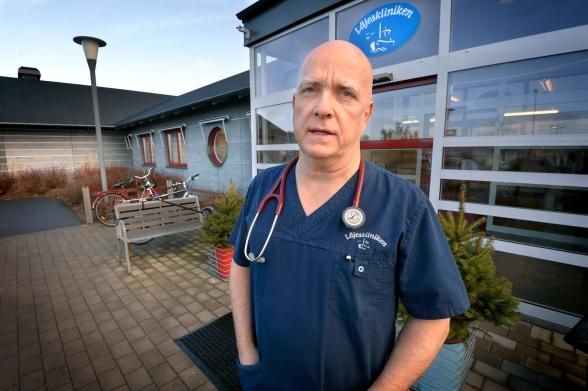 Per Repfennig, verksamhetschef Läjeskliniken -artikel i HN 170304