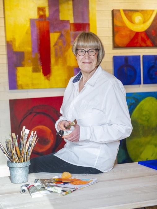 Charlotte Falk, konstnär