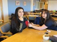 Blivande undersköterskor i Vallby