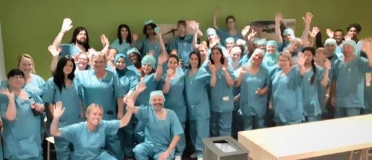 Undervisning på Karolinska sjukhuset