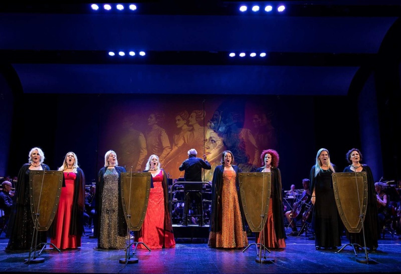 Göteborgsopern 17/5 firandet av Birgit Nilssons 100 års Dag. Fotograf Sören Håkanlind
