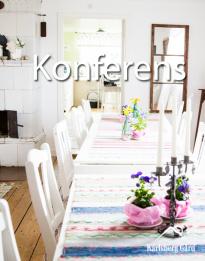 Konferens Varberg - perfekt för er som söker lantlig & avskild miljö för den kreativa konferensen eller mötet - kursgård Karlsberg Gård mellan Varberg, Ullared och Falkenberg
