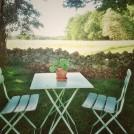 cafebord trädgård