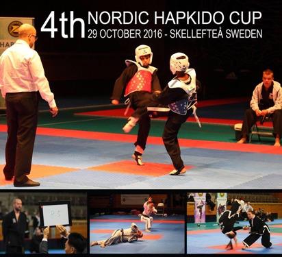 Det gick bra för oss på årets upplaga av Nordic Hapkido Cup.  1 guld medalj i grenen Mooki Sool och 1 Silver medalj i Fiqhting samt 1 Brons medalj i grenen Hyung... Ett stort Grattis till er!!!