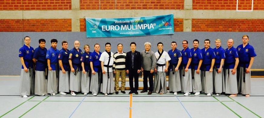 14-15 Okt - 2016 EURO MULIMPIA Martial Art Cup -  Köln, Tyskland