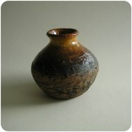 Gustav Kraitz, vase from own studio