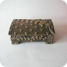 Lidded brass box, Aedel Malm Denmark ................900 SEK
