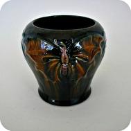 Art nouveau vase MA&S bornholm