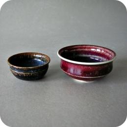 Stig Lindberg, miniature  bowls .........Both bowls 1 200 SEK