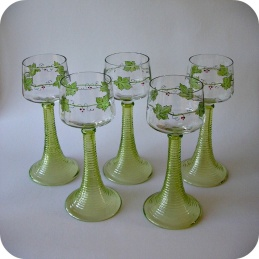 White wine Jugend glass Theresienthal ........1 200 SEK for 5