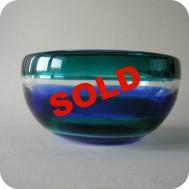 Fulvio Bianconi, Venini, Murano, Italy Glass bowl