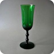 "Green glass ""Salut"" Simon Gate ....SOLD"