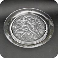 """Lalique France plate """"Cote-d'Or"""