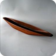 Söwe Konst, Sigvard Nilsson canoe teak bowl