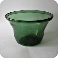 Antique glass bowl 19th century