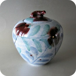 Suzanne Ohlén Rorstrand Stonewae urn with lid .....2 200 SEK