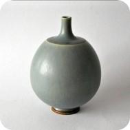 Berndt Friberg vase in haresfur glaze ...SOLD