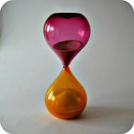 Paolo Venini, Murano, hourglass ...... SOLD