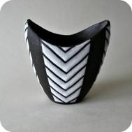 Marianne Starck Vase Negro