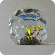 Bohemian glass paperweight ........750 SEK